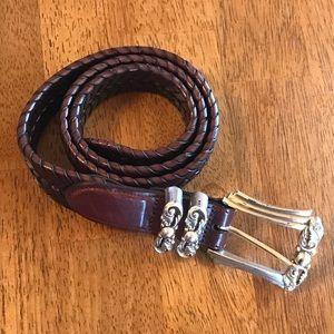 Brighton Women's Leather Belt Brown  sz 30